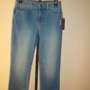 $124  NYDJ Jeans Barbara Bootcut Upper Falls Sz 4